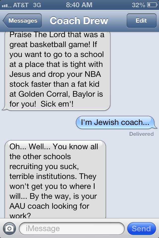 disturbing text messages